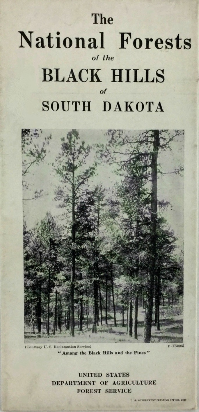 BLACK HILLS NATIONAL FOREST MAPS