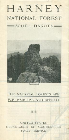 BLACK HILLS NATIONAL FOREST MAPS - Black hills national forest on us map
